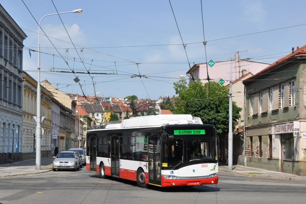 Fotogalerie » Škoda 26Tr 3303   Brno   Husovice   Svitavská
