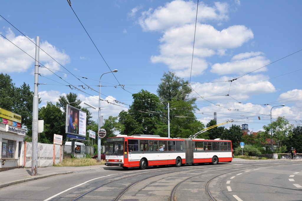 Fotogalerie » Škoda 15TrM 3504 | Brno | Zábrdovice | Cejl