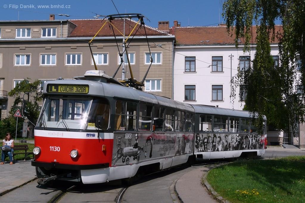Fotogalerie » ČKD Tatra K2 1130 | Brno | Masarykova čtvrť | Náměstí míru | Náměstí Míru, smyčka