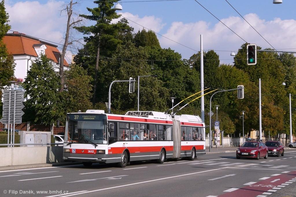 Fotogalerie » Škoda 22Tr 3602 | Brno | Pisárky | Hlinky
