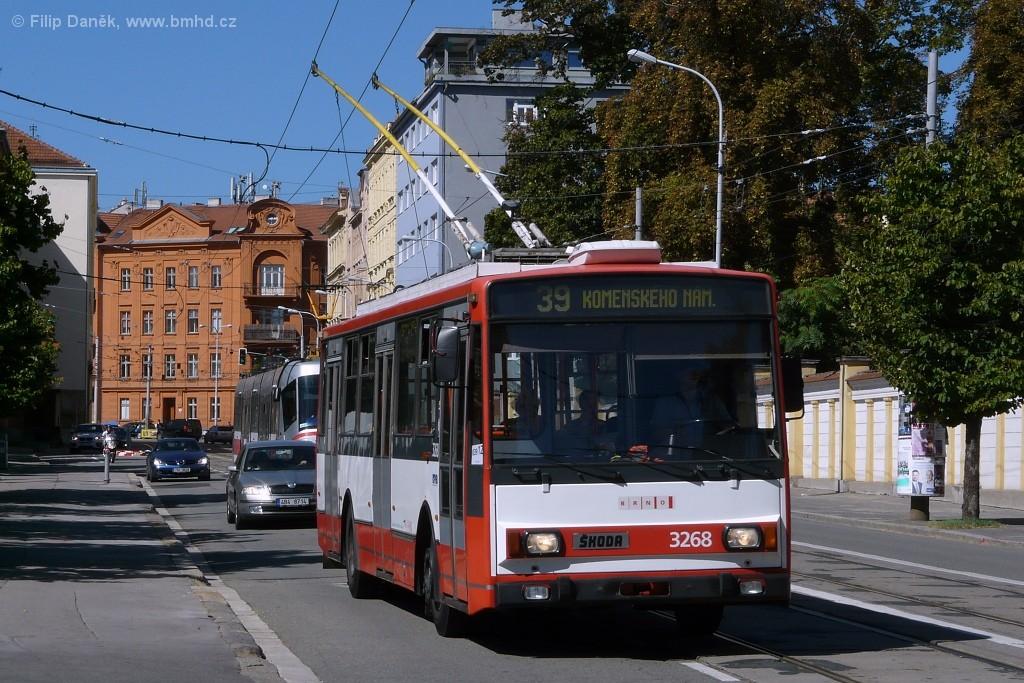 Fotogalerie » Škoda 14TrR 3268   Brno   střed   Údolní
