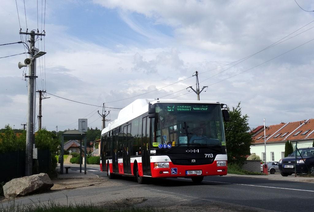 Fotogalerie » SOR NBG 12 1BV 7849 7113 | Brno | Útěchov | Adamovská
