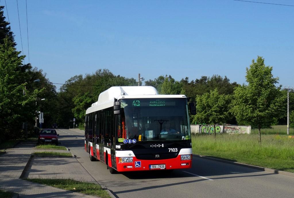 Fotogalerie » SOR NBG 12 1BV 7839 7103 | Brno | Soběšice | Útěchovská