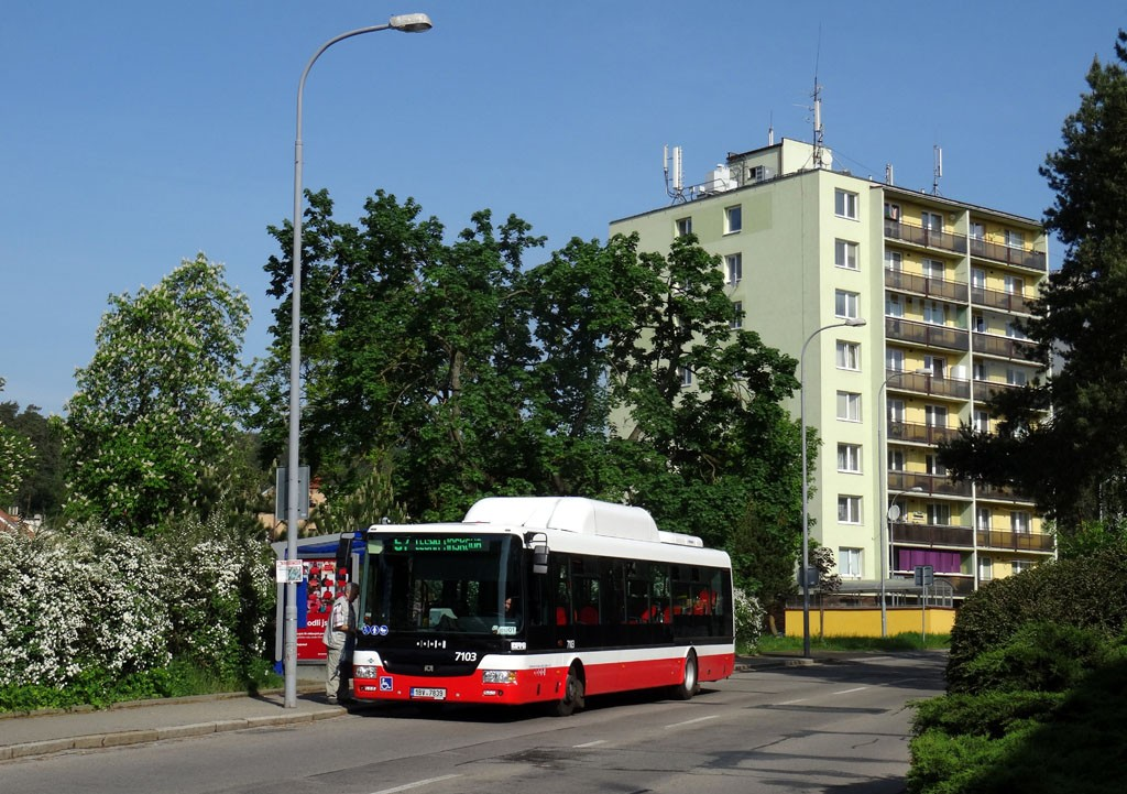 Fotogalerie » SOR NBG 12 1BV 7839 7103 | Brno | Obřany | Fryčajova | Obřany, sídliště