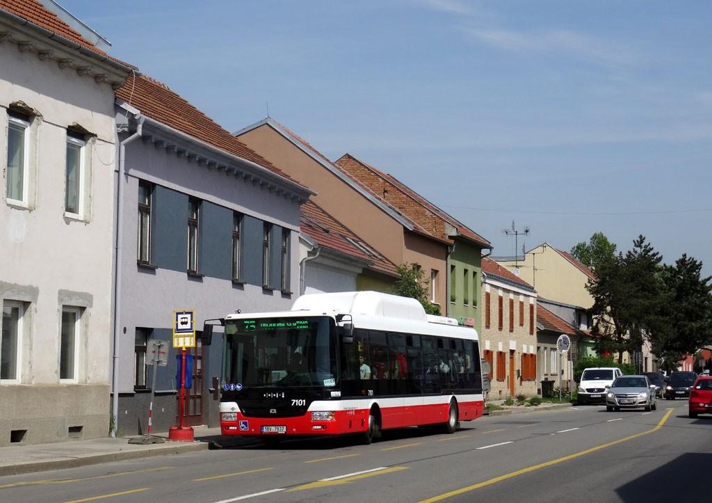 Fotogalerie » SOR NBG 12 1BV 7837 7101   Brno   Maloměřice   Karlova   Karlova