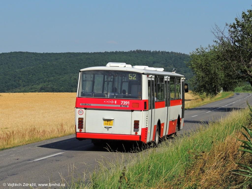 Fotogalerie » Karosa B732.1654.3 BSC 38-94 7391 | Brno | Kohoutovická
