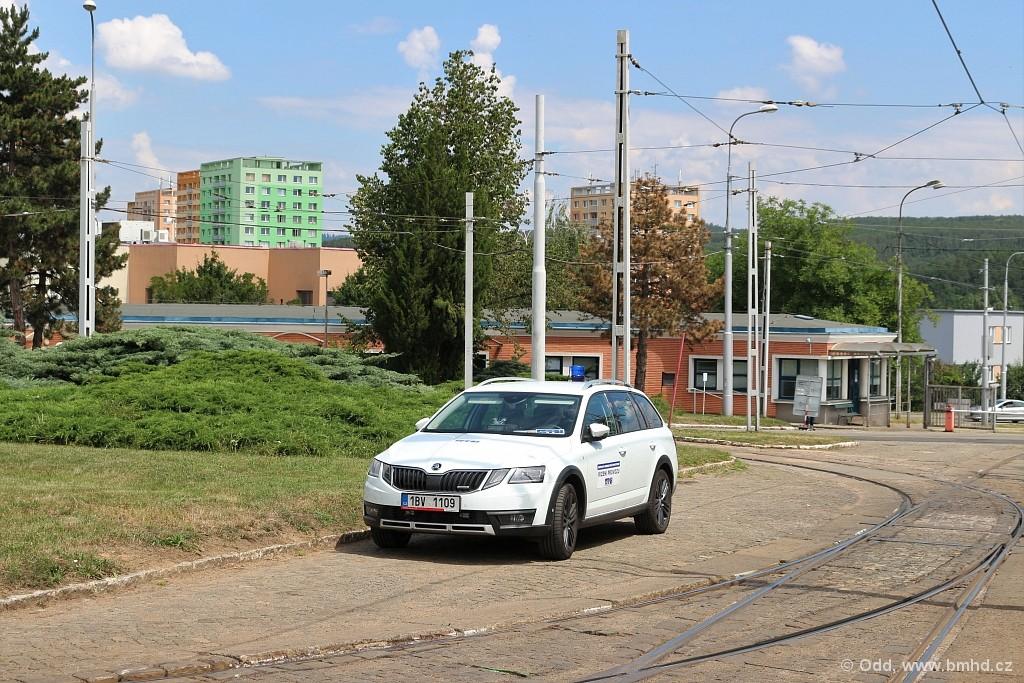 Fotogalerie » Škoda Octavia Scout 2.0 TDI 1BV 1109 . | Brno | vozovna Medlánky