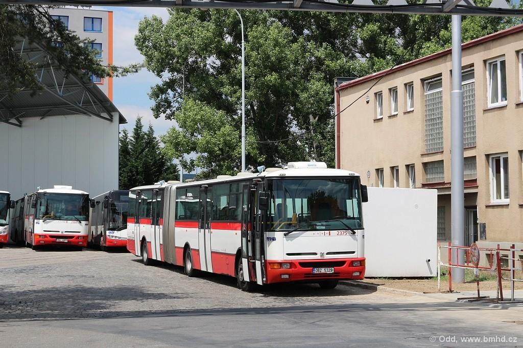 Fotogalerie » Karosa B961E.1970 3B2 5329 2375 | Brno | vozovna Medlánky