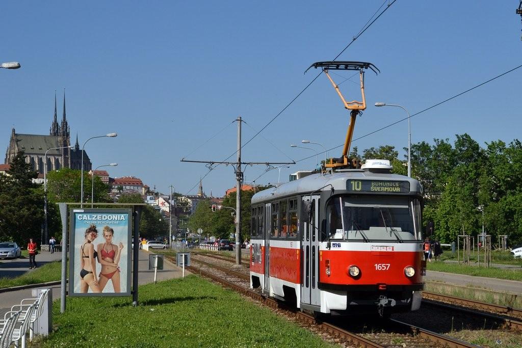 Fotogalerie » Pragoimex T3R.PV 1657 | Brno | Štýřice | Renneská