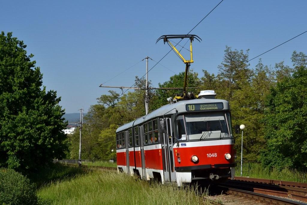 Fotogalerie » ČKD Tatra K2P 1048 | Brno | Štýřice