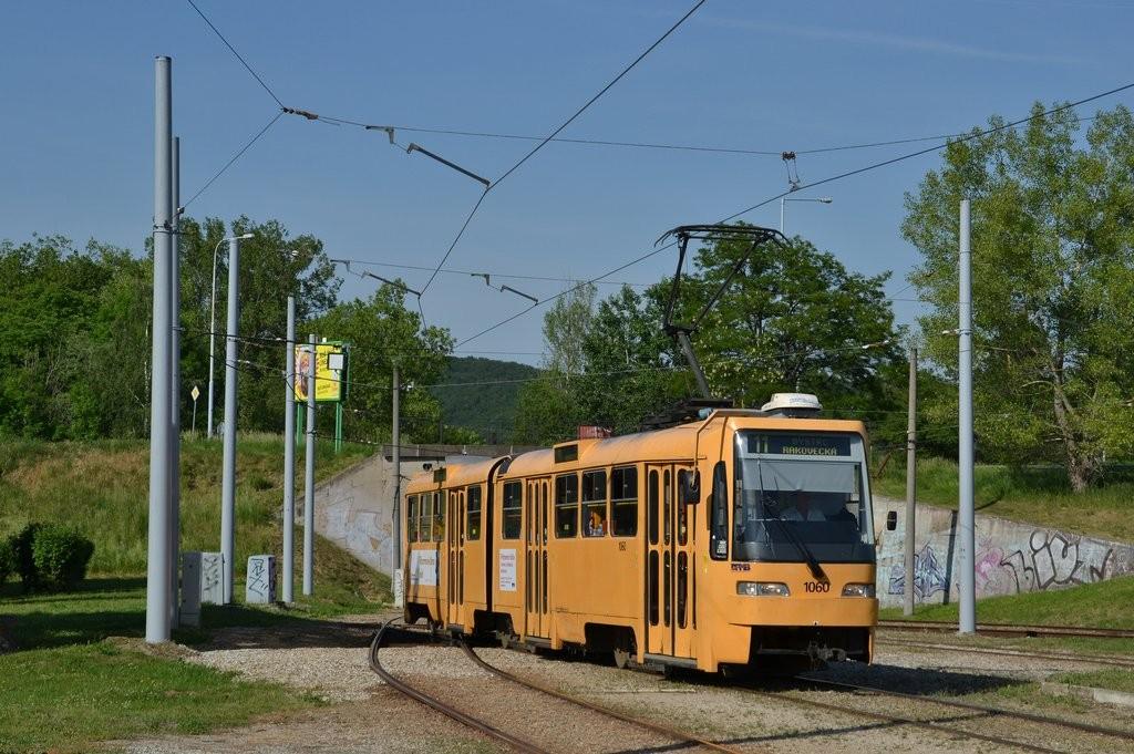 Fotogalerie » ČKD Tatra K2R03 1060 | Brno | Bystrc | Rakovecká, smyčka