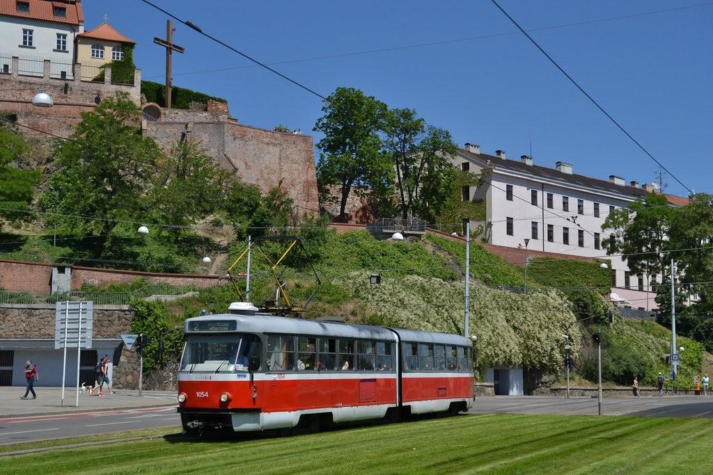 Fotogalerie » ČKD Tatra K2T 1054 | Brno | střed | Nové sady