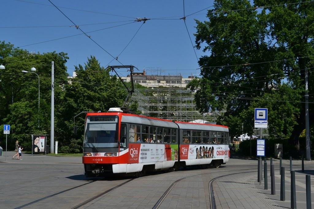 Fotogalerie » ČKD Tatra K2R03 1081 | Brno | střed | Moravské náměstí | Česká