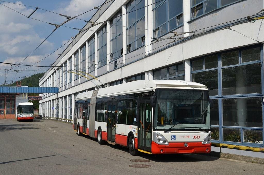 Fotogalerie » Škoda 25Tr Citelis 1B 3613 | Brno | Komín | vozovna Komín