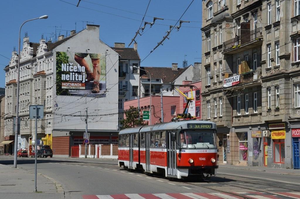 Fotogalerie » ČKD Tatra K2P 1046 | Brno | Trnitá | Křenová