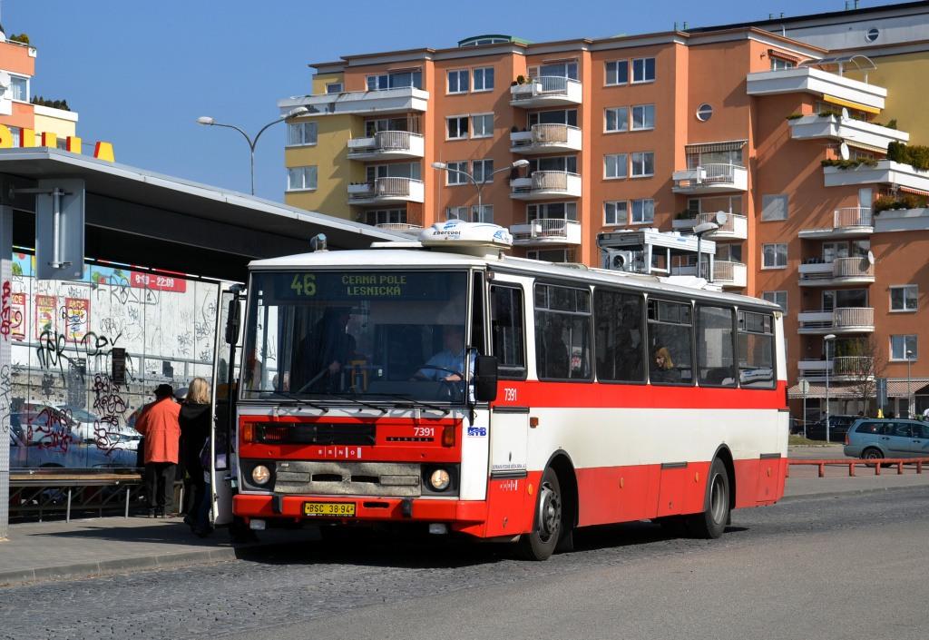 Fotogalerie » Karosa B732.1654.3 BSC 38-94 7391 | Brno | Lesná | Okružní | Haškova