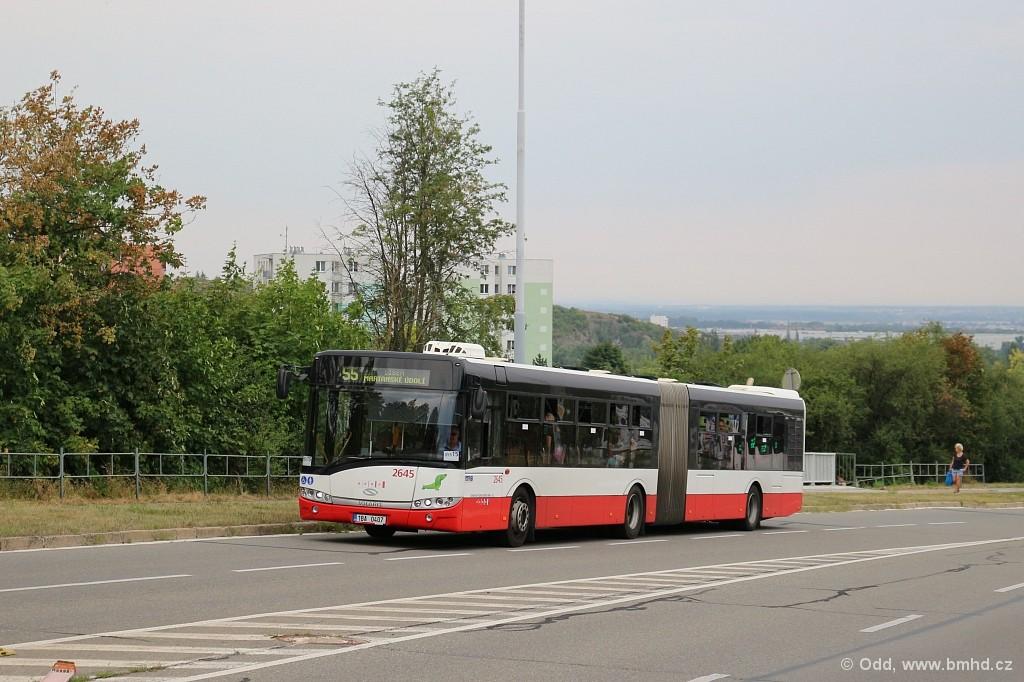 Fotogalerie » Solaris Urbino 18 III 1BA 0407 2645   Brno   Líšeň   Novolíšeňská