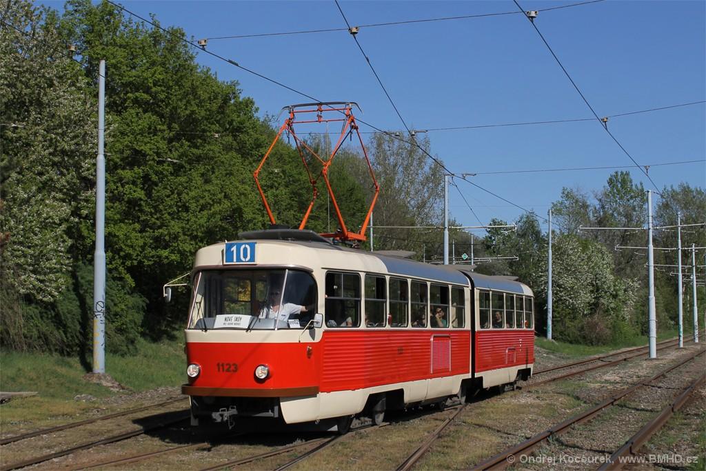 Fotogalerie » ČKD Tatra K2YU 1123 | Brno | Židenice | Ostravská