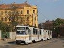 Polep KT8D5R.N2 1704 připomíná výročí 150 let MHD v Brně