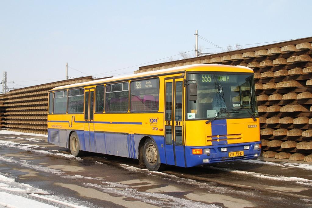 Fotogalerie » Karosa C935E.1039 BVI 65-93   Podivín   Podivín, železniční stanice
