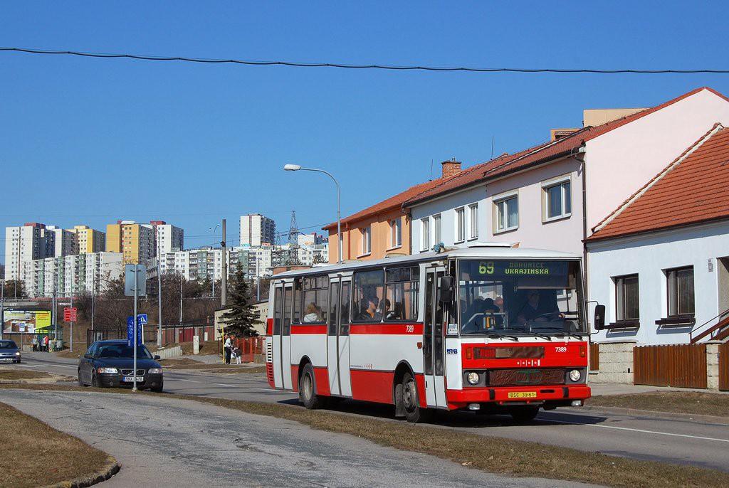Fotogalerie » Karosa B732.1654.3 BSC 39-61 7389 | Brno | Starý Lískovec | Jemelkova