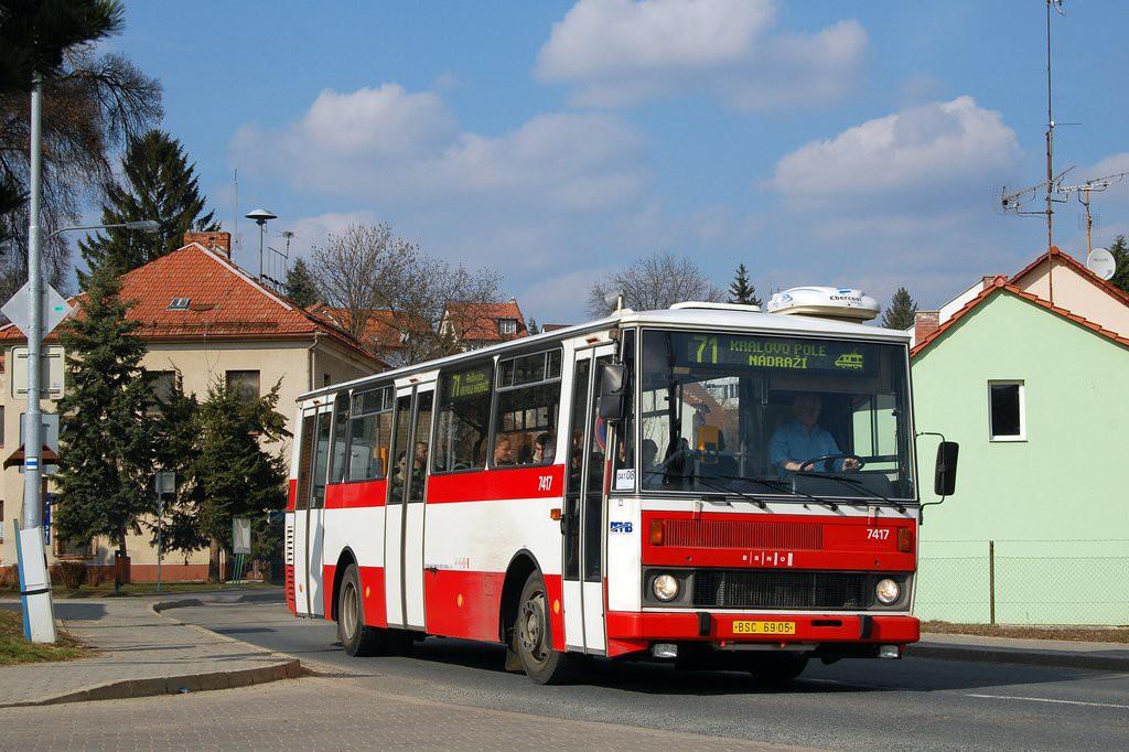 Fotogalerie » Karosa B731.1669 BSC 69-05 7417 | Brno | Ivanovice | Mácova