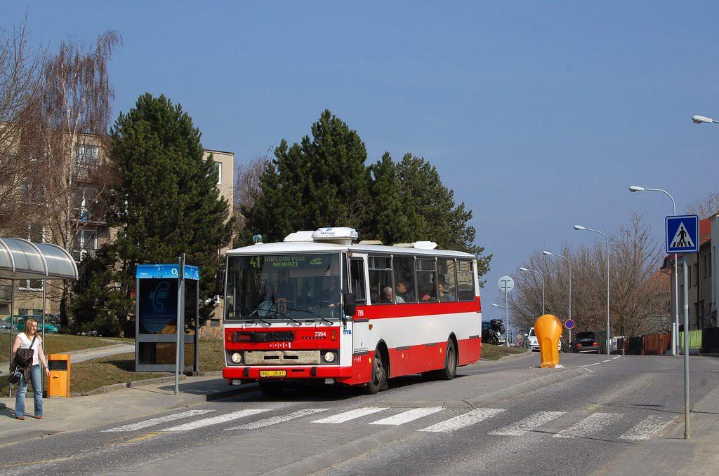 Fotogalerie » Karosa B732.1654.3 BSC 38-97 7394 | Brno | Řečkovice | Medlánecká | Olšanského