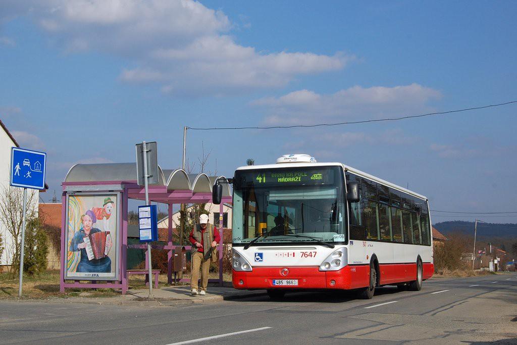 Fotogalerie » Irisbus Citelis 12M 4B5 9663 7647 | Brno | Ivanovice | Mácova | Mácova