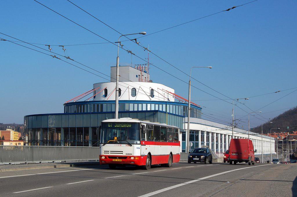 Fotogalerie » Karosa B931E.1707 BSE 94-68 7453 | Brno | Komín | Veslařská
