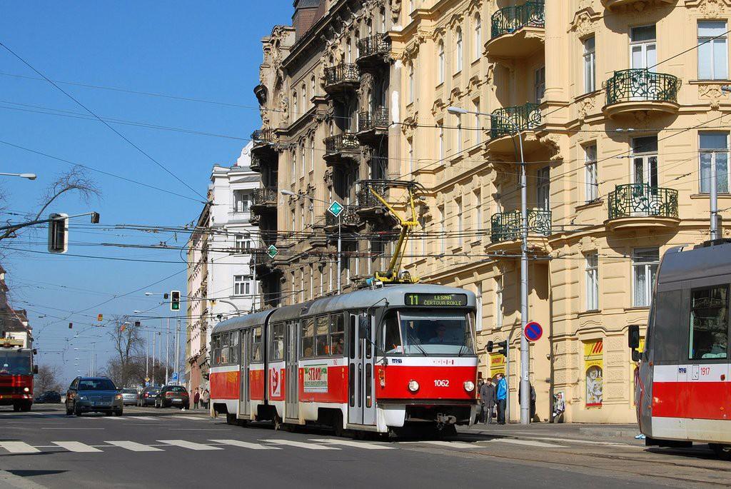 Fotogalerie » ČKD Tatra K2P 1062 | Brno | Veveří | Konečného náměstí