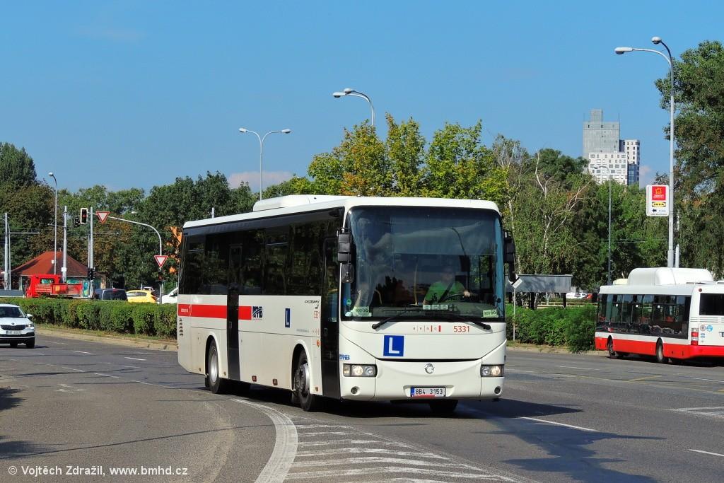 Fotogalerie » Irisbus Crossway 12M 8B4 3153 5331   Brno   Komárov   Černovická