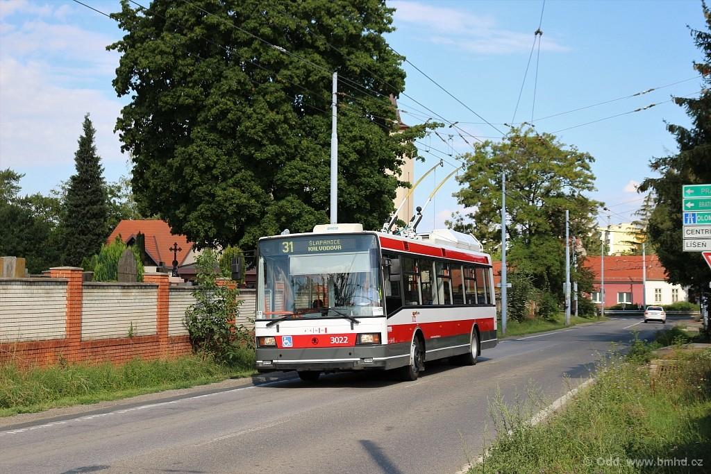 Fotogalerie » Škoda 21Tr 3022 | Brno | Slatina | Šlapanická