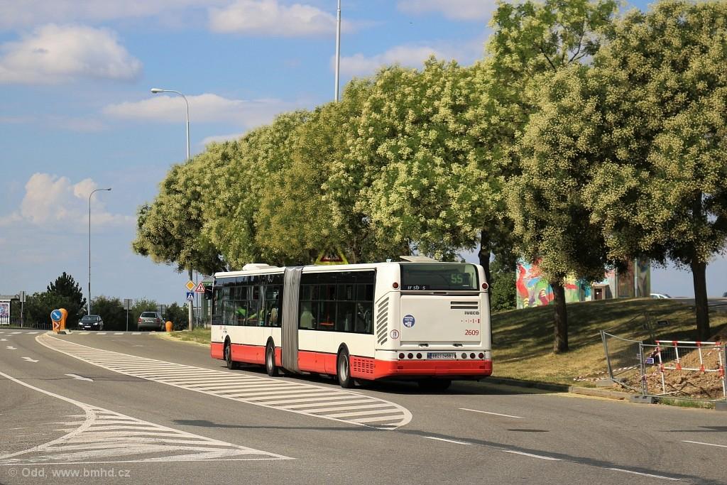 Fotogalerie » Irisbus Citelis 18M 6B2 2468 2609 | Brno | Líšeň | Novolíšeňská