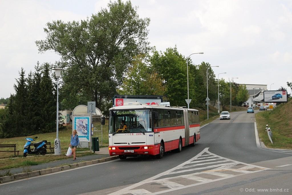 Fotogalerie » Karosa B961E.1970 2B4 9314 2374 | Brno | Bystrc | Stará Dálnice | Štouračova