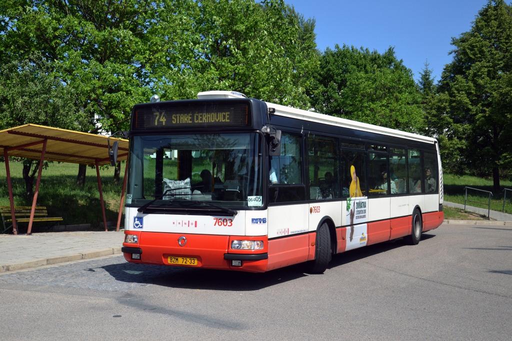 Fotogalerie » Irisbus Citybus 12M 2071.20 BZM 72-33 7603 | Brno | Maloměřice | Podzimní | Podzimní