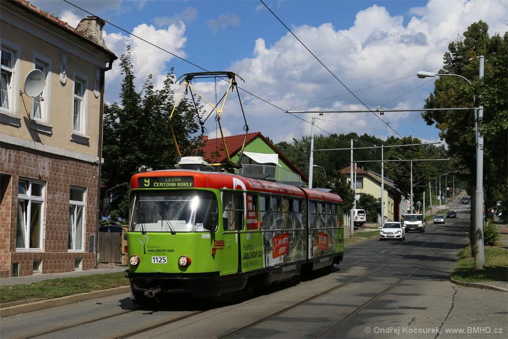 Fotogalerie » ČKD Tatra K2 1125 | Brno | Židenice | Líšeňská