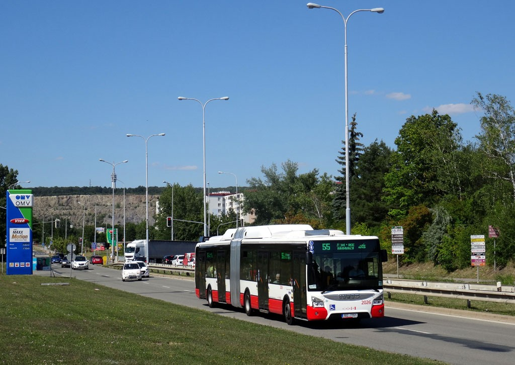 Fotogalerie » Iveco Urbanway 18M CNG 1BZ 7151 2026 | Brno | Líšeň | Jedovnická