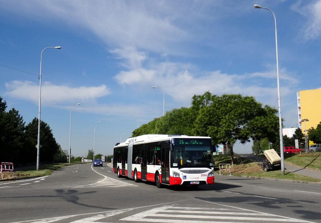 Fotogalerie » Iveco Urbanway 18M CNG 1BZ 9269 2044 | Brno | Líšeň | Novolíšeňská