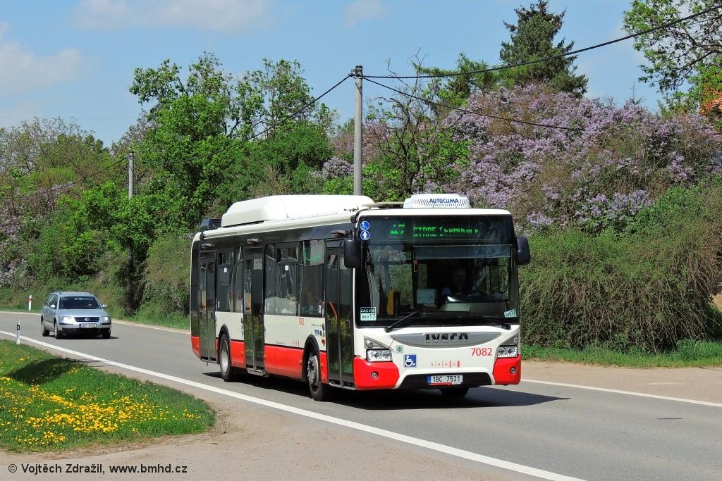 Fotogalerie » Iveco Urbanway 12M CNG 1BC 7531 7082 | Brno | Černovice | Vinohradská