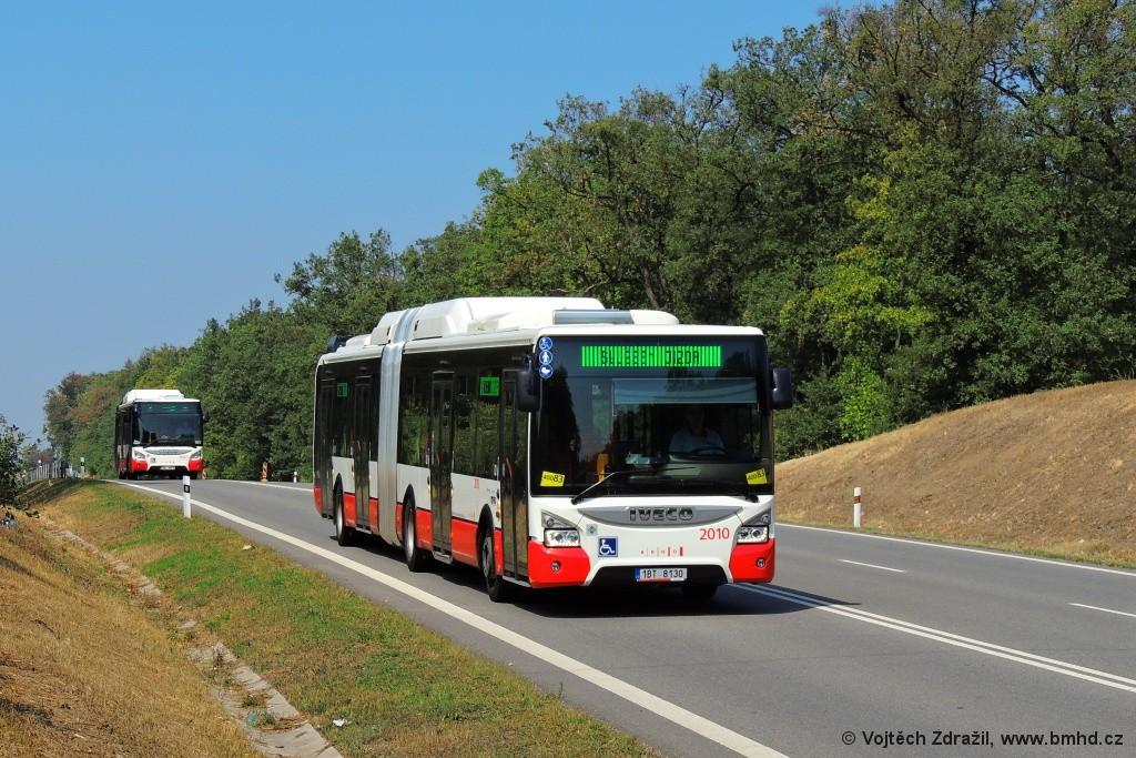 Fotogalerie » Iveco Urbanway 18M CNG 1BT 8130 2010 | Popůvky | Vintrovna