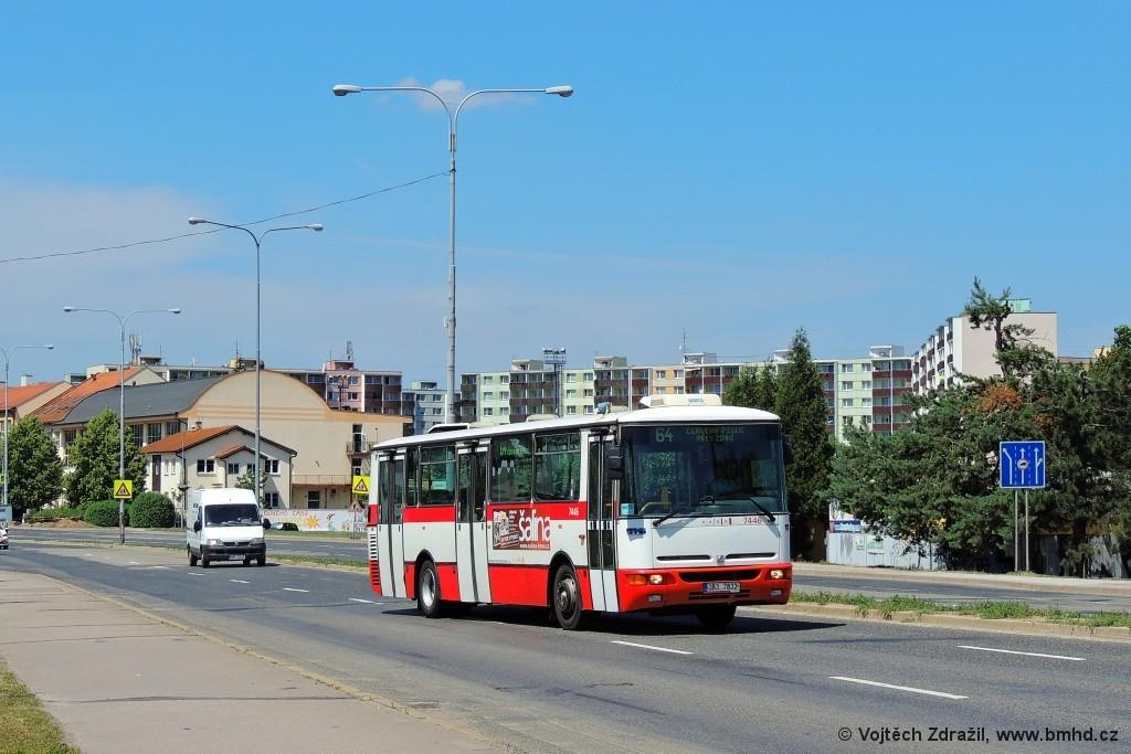 Fotogalerie » Karosa B931E.1707 3B3 7833 7446 | Brno | Komárov | Černovická
