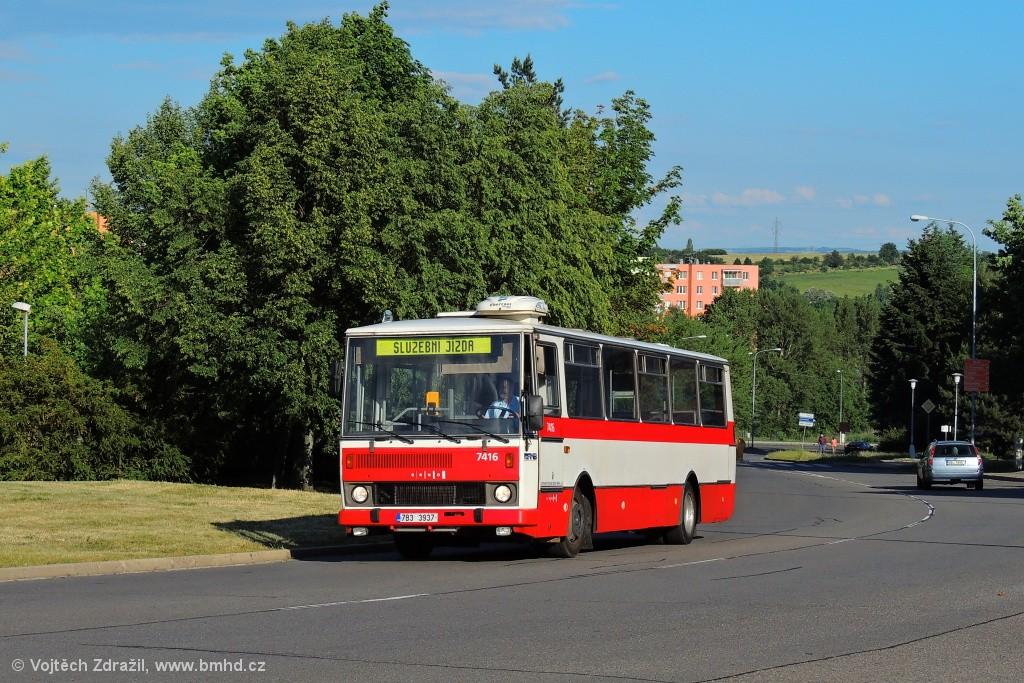 Fotogalerie » Karosa B731.1669 7B3 3937 7416 | Brno | Starý Lískovec | Osová