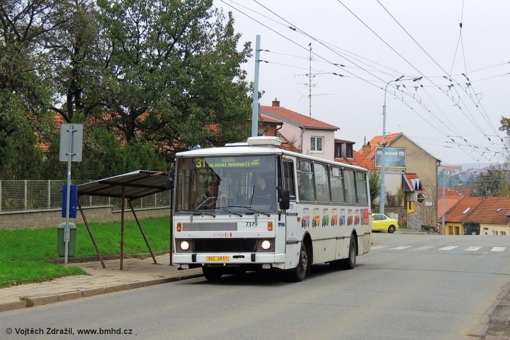 Fotogalerie » Karosa B732.1654.3 BSC 39-51 7379 | Šlapanice | Brněnská | Čechova