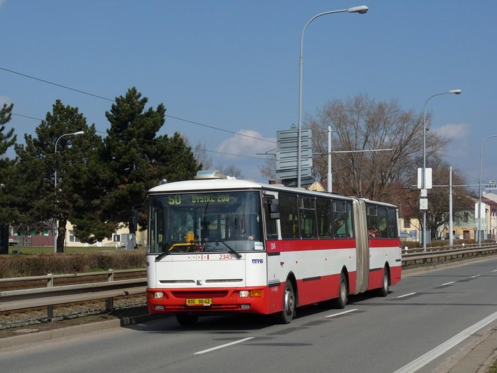Fotogalerie » Karosa B941E.1962 BSE 90-42 2345 | Brno | Komárov | Svatopetrská