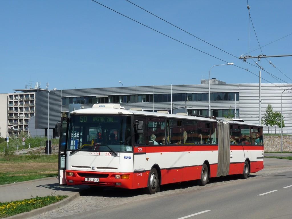 Fotogalerie » Karosa B961E.1970 2B4 9313 2373 | Brno | Bohunice | Kamenice | Univerzitní kampus