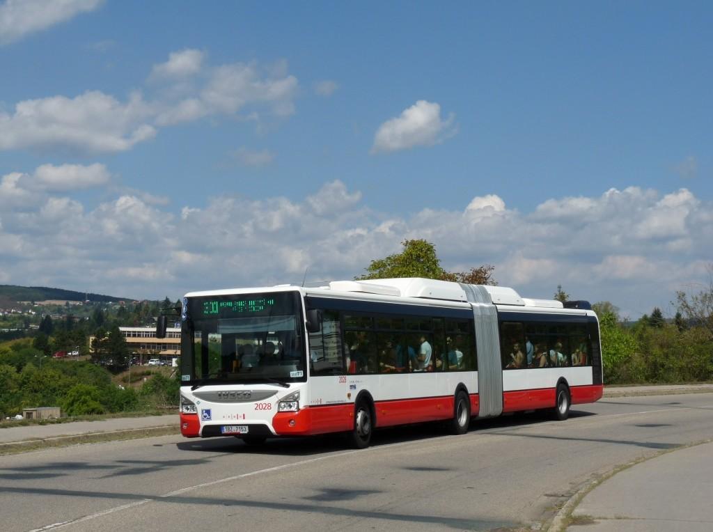 Fotogalerie » Iveco Urbanway 18M CNG 1BZ 7153 2028 | Brno | Bystrc | Rakovecká