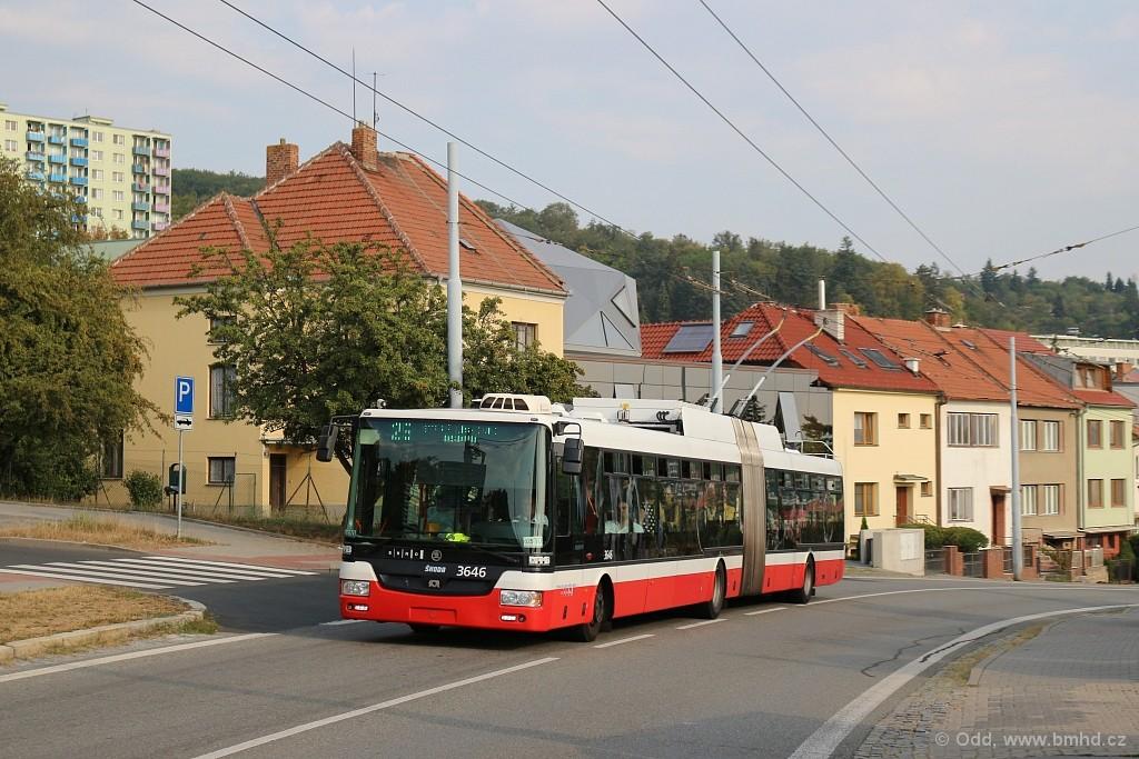 Fotogalerie » Škoda 31Tr 3646 | Brno | Nový Lískovec | Rybnická