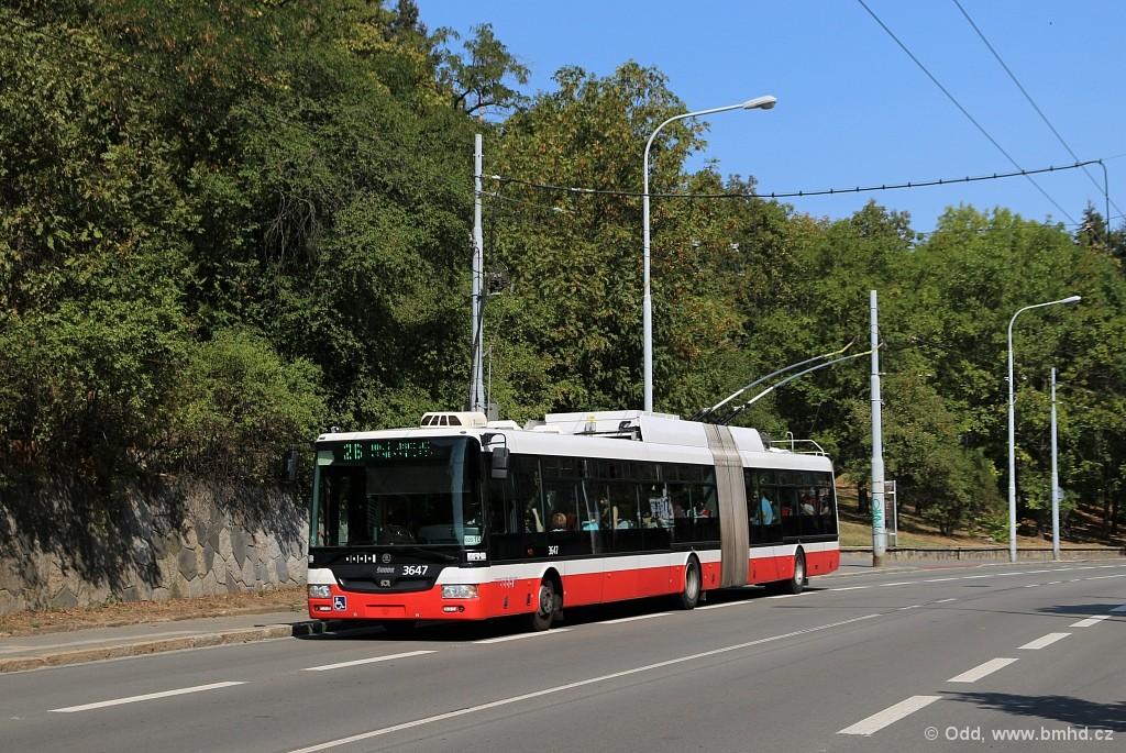 Fotogalerie » Škoda 31Tr 3647   Brno   Veveří   Úvoz