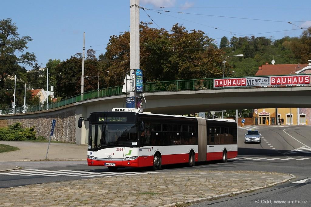 Fotogalerie » Solaris Urbino 18 III 9B7 9143 2634 | Brno | Staré Brno | Křížkovského