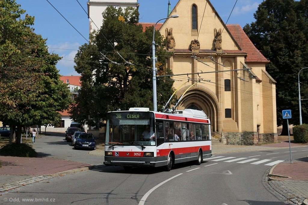 Fotogalerie » Škoda 21Tr 3052 | Brno | Komín | Kristenova